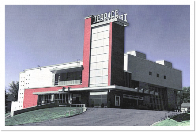 Historic terrace theatre hy vee boycott for The terrace movie theater